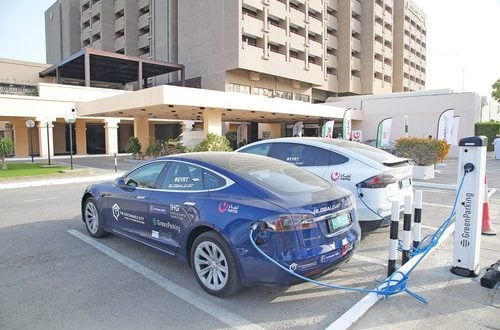 12 electric vehicle charging stations opened, more than 40 planned before end of year