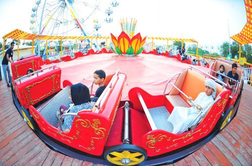 12 new rides introduced at Naseem Gardens