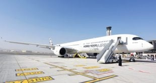 Airbus' newest A350-1000 aircraft showcased in Muscat