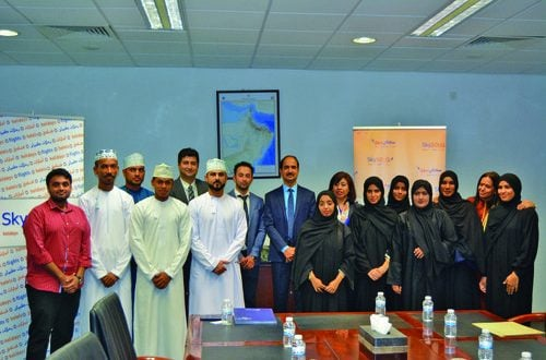 Bahwan Travel Services conducts travel and tour contest for OTC students