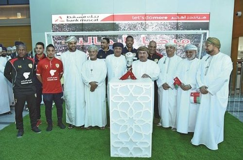Bank Muscat welcomes Oman Football Team with pride and enthusiasm