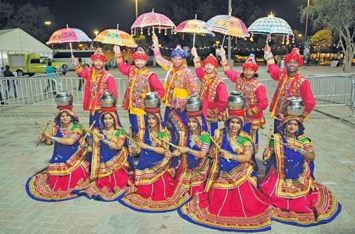 Indian dance troupe enthrals audience
