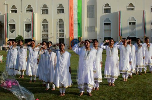 Indian School Ghubra celebrates 69th Republic Day of India with pride