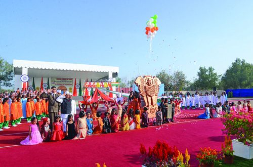 Indian School Seeb celebrates Republic Day with great enthusiasm
