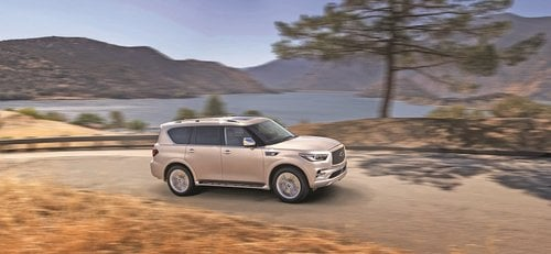 Infiniti QX80 makes Middle East debut