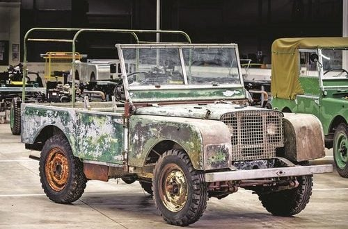 Land Rover marks 70th anniversary with restoration of 'missing' original 4x4