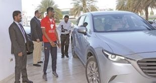 Mazda proud to be driving force behind National Football Team's glorious title win