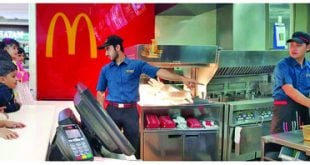 McDonald's welcomes children into its kitchen