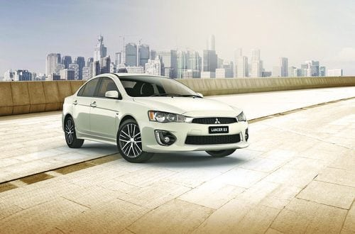 Mitsubishi Lancer EX available from RO4,495