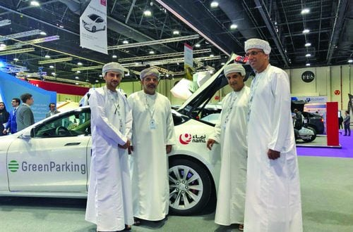 Nama Group supports first electric vehicle charging station to be constructed at SQU