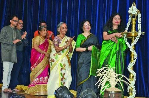 Nrithodaya students give enthralling dance debut performance