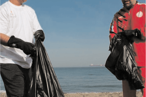 Oman Olympic Committee conducts beach clean-up campaign in Darsait
