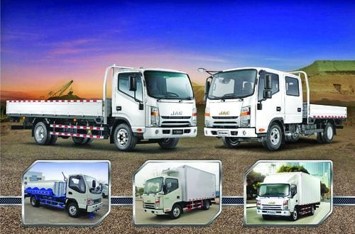 Towell Auto Centre announces cash gift offers on JAC's range of trucks