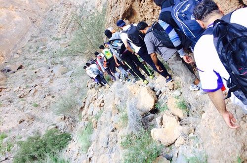91 year old Omani inspires youths to trek Jebel Akhdar