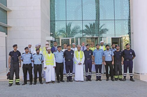 Ahlibank organises security fire drill exercise at head office in Wattayah