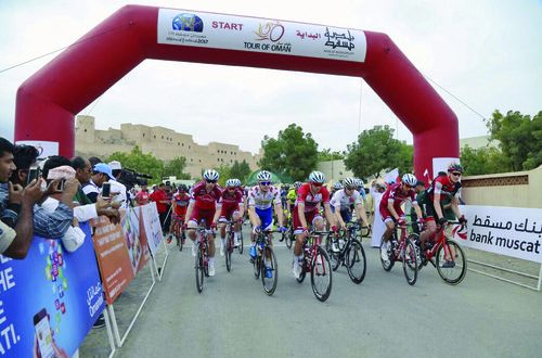Bank Muscat extends support to Tour of Oman