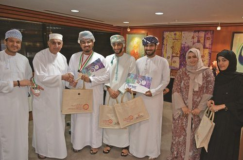 Eshraqa supports SQU students for Global Inventions Expo