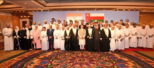 Indian PM meets Omani businessmen