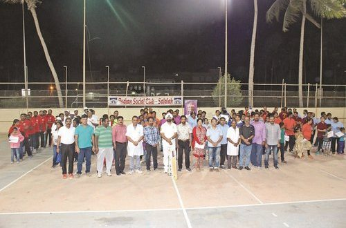 ISC Salalah begins 2018 edition of ISC Annual Underarm Cricket Tournament