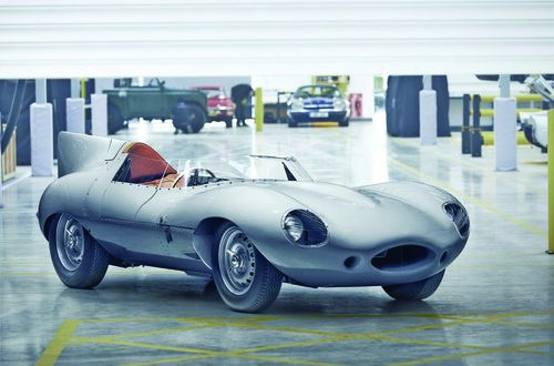 Jaguar restarts production of legendary D-type race car