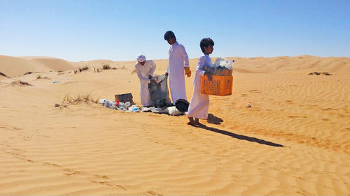 Litter, noise pollution bane of desert camps in Bidiyah
