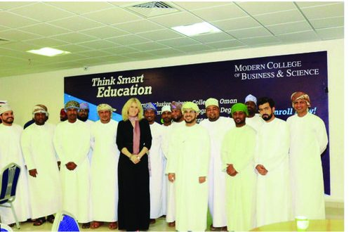 MCBS marks completion of 'English for Work Environment' course offered to OCC