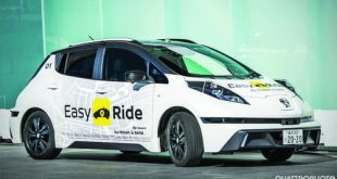 Nissan and DeNA to initiate Easy Ride robo-vehicle mobility service trial