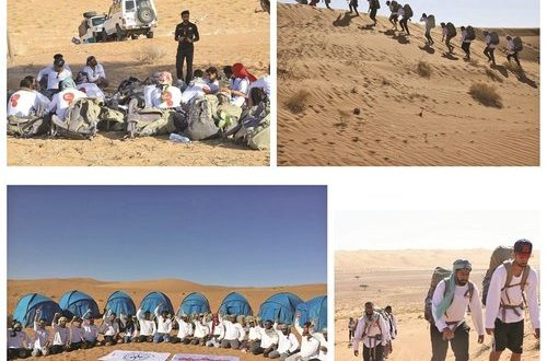 Ooredoo supports two Outward Bound Oman training courses