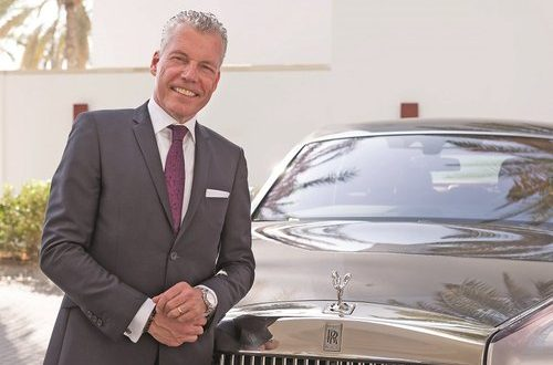 Al Jenaibi International Automobiles hosts Rolls-Royce Motor Cars CEO in Oman