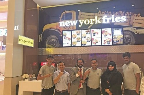 Fourth New York Fries restaurant opens at My City Centre Sur
