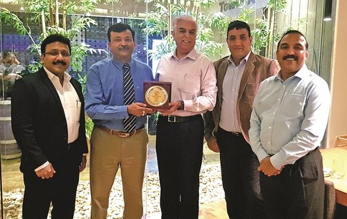 Genetco honoured by Hitachi Sales Middle East FZE