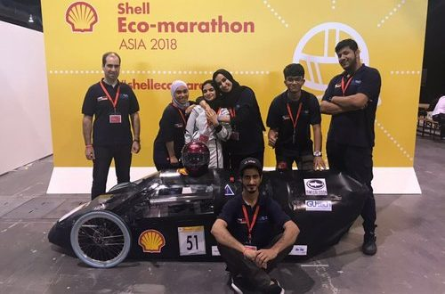 GUtech Megalodon team makes Oman proud by passing the technical inspection, ready to hit Shell Eco-marathon track