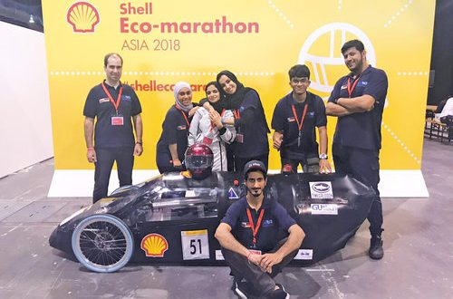 GUtech team clears technical inspection, ready to hit Shell Eco-marathon track