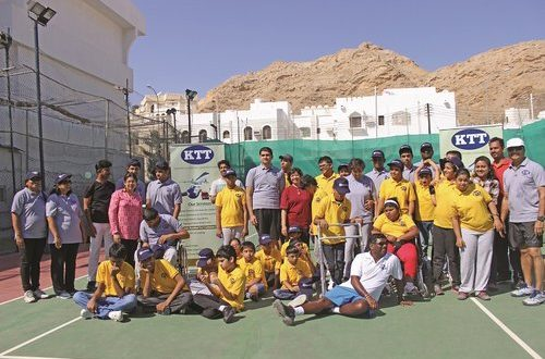 ISC organises tennis camp for children with special needs