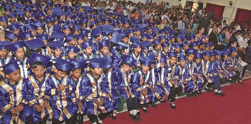 ISD kindergarten section holds graduation ceremony