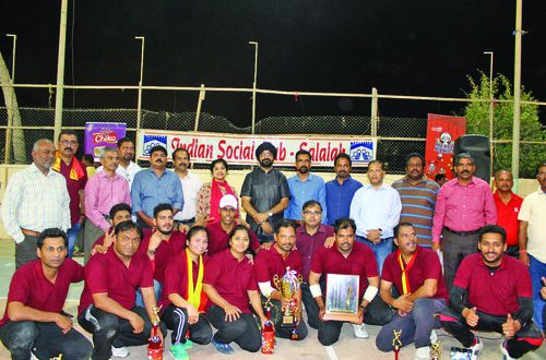 Karnataka Wing bags 2018 edition of ISC, Salalah Annual Inter-Wing Underarm Cricket trophy