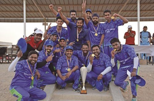 Khimji Ramdas Insurance Services organises cricket tournament