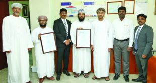 Mazoon Electricity Company renews its ISO certificate