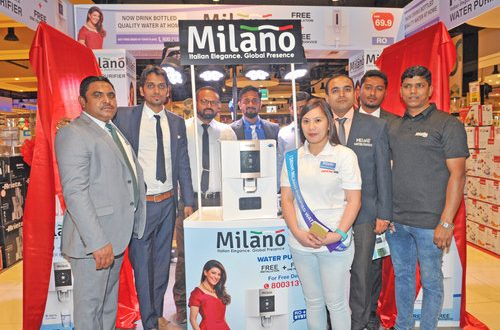 Milano Water Purifier launched in Nesto stores