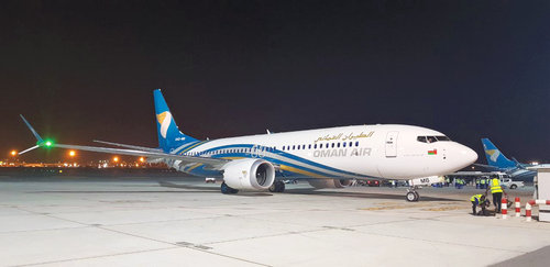 Oman Air receives second Boeing 737 Max 8