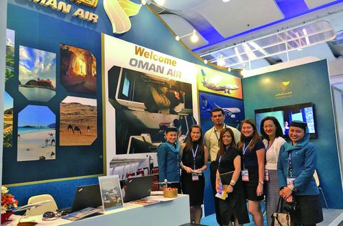 Oman Air showcases its products at events in Philippines and Thailand