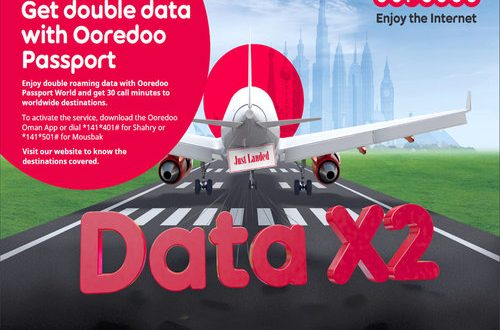Ooredoo Passport World provides double data to travellers