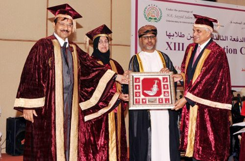 Waljat College of Applied Sciences holds XIII Convocation
