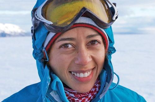 Anisa al Raisi aims to be first Omani to ski to Geographic North Pole