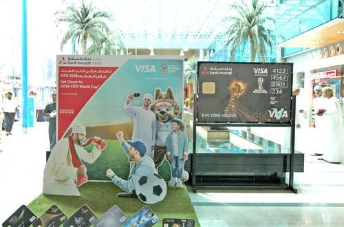 Bank Muscat gets strong response to 2018 FIFA World Cup packages