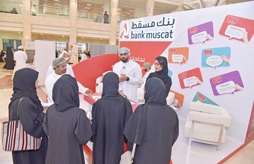 Bank Muscat highlights career opportunities for CBFS students