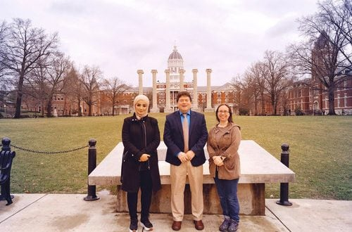 Bayan College visits Missouri School of Journalism