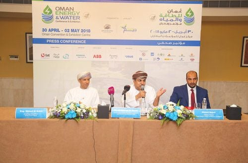 Energy, water expo and conference from April 30 to May 2; to highlight investment opportunities