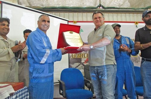 Galfar recognised for safety performance