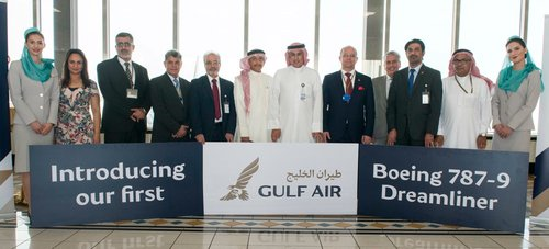 Gulf Air Welcomes First Boeing 787-9 Dreamliner